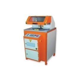 Машина за автоматично рязане на ПВЦ  и АЛ.профили с долно подаване на диска (NC контролирана)