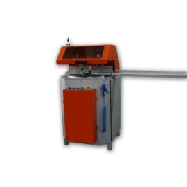 Single head mitre saw machine for PVC and Aluminium Profiles