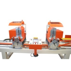 Автоматична двуглава машина за автоматично рязане на ПВЦ  и АЛ.профили