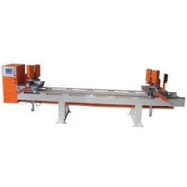 ماكينة لحام إطارات PVC الأتوماتيكية ذات الرأس المزدوجة